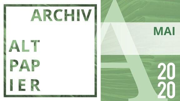 Grafik Archiv Altpapier im Monat Mai 2020