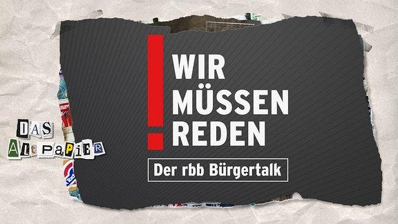 Teasergrafik Altpapier vom 13. Juni 2019: rbb Bürgertalk