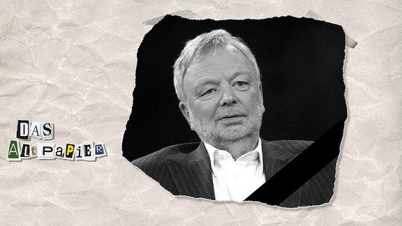 Teasergrafik Altpapier vom 8. Juli 2019: Michael Jürgs gestorben
