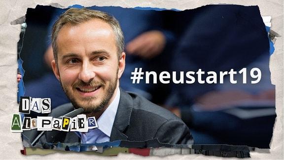 Das Altpapier am 30. August 2019: Jan Böhmermann und #neustart19