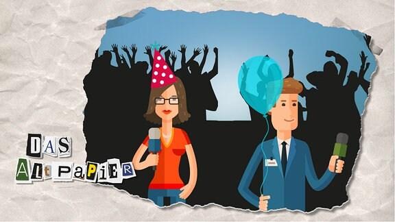 Das Altpapier am 2. September 2019: Partyhütchen und Luftballons