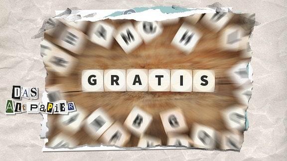 """Collage zur Medienkolumne Das Altpapier vom 01.März 2019: Scrabble """"gratis"""""""