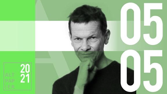 Teasergrafik Altpapier vom 5. Mai 2021: Porträt Autor Christian Bartels