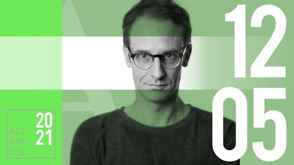 Teasergrafik Altpapier vom 12. Mai 2021: Porträt Autor Klaus Raab