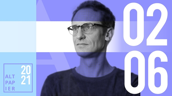 Teasergrafik Altpapier vom 2. Juni 2021: Porträt Autor Klaus Raab