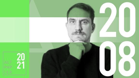 Teasergrafik Altpapier vom 20. August 2021: Porträt Autor Ralf Heimann