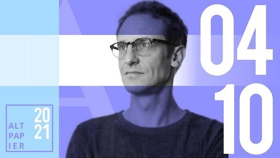 Teasergrafik Altpapier vom 4. Oktober 2021: Porträt Autor Klaus Raab