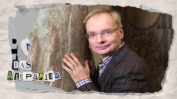 Teasergrafik Altpapier vom 5. Dezember 2019: Uwe Steimle