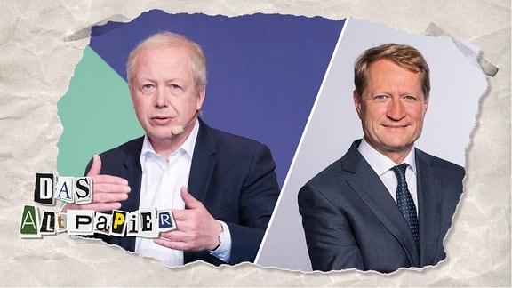 Teasergrafik Altpapier vom 2. Januar 2020: Tom Buhrow und Ulrich Wilhelm