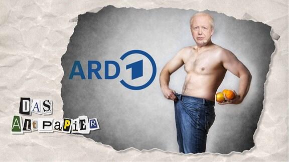 Teasergrafik Altpapier vom 20. Januar 2020: Tom Buhrow verschlankt die ARD