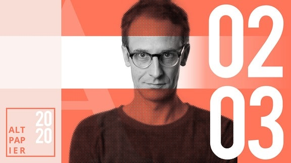 Teasergrafik Altpapier vom 02. März 2020: Porträt Autor Klaus Raab