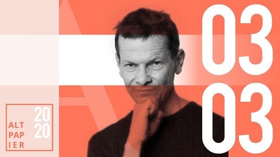 Teasergrafik Altpapier vom 03. März 2020: Porträt Autor Christian Bartels