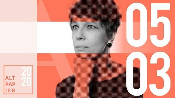 Teasergrafik Altpapier vom 05. März 2020: Porträt Autorin Jenni Zylka