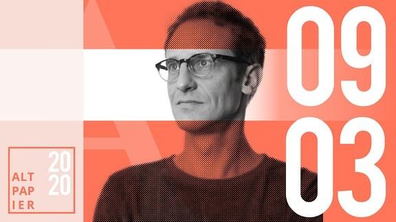 Teasergrafik Altpapier vom 09. März 2020: Porträt Autor Klaus Raab