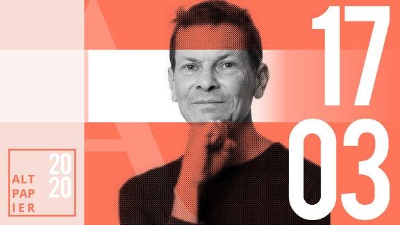Teasergrafik Altpapier vom 17. März 2020: Porträt Autor Christian Bartels
