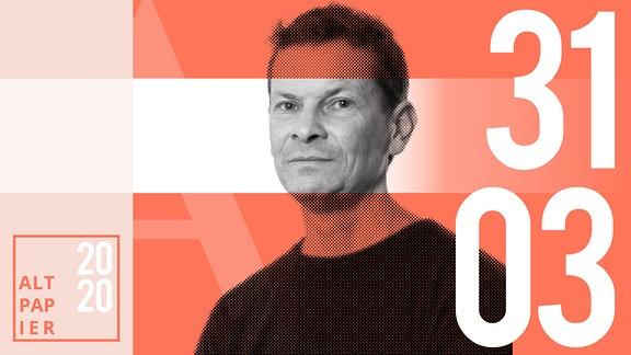 Teasergrafik Altpapier vom 31. März 2020: Porträt Autor Christian Bartels