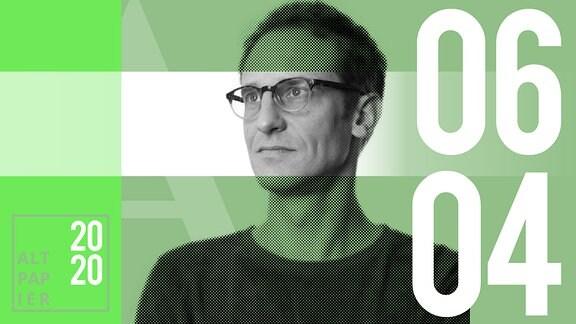 Teasergrafik Altpapier vom 06. April 2020: Porträt Autor Klaus Raab