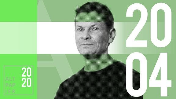 Teasergrafik Altpapier vom 20. April 2020: Porträt Autor Christian Bartels