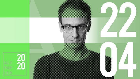 Teasergrafik Altpapier vom 22. April 2020: Porträt Autor Klaus Raab