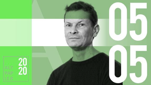 Teasergrafik Altpapier vom 05. Mai 2020: Porträt Autor Christian Bartels