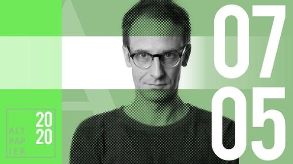 Teasergrafik Altpapier vom 07. Mai 2020: Porträt Autor Klaus Raab