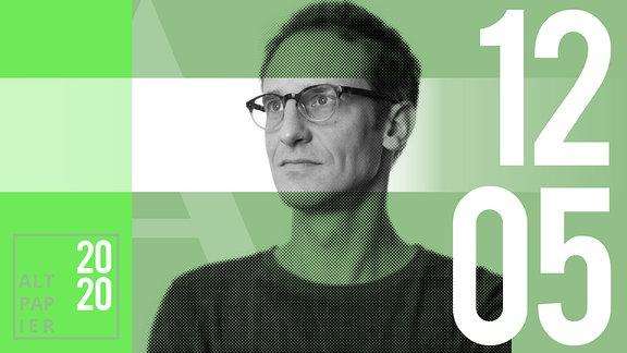 Teasergrafik Altpapier vom 12. Mai 2020: Porträt Autor Klaus Raab