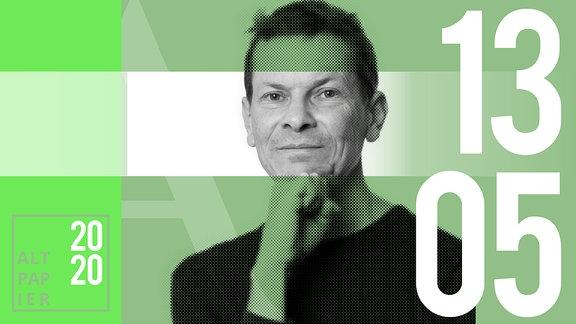 Teasergrafik Altpapier vom 13. Mai 2020: Porträt Autor Christian Bartels