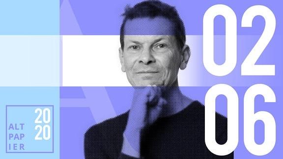 Teasergrafik Altpapier vom 02. Juni 2020: Porträt Autor Christian Bartels
