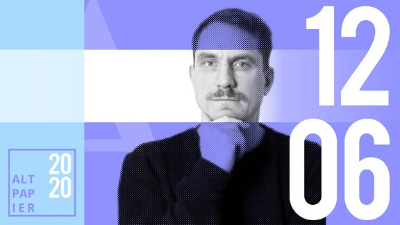 Teasergrafik Altpapier vom 12. Juni 2020: Porträt Autor Ralf Heimann