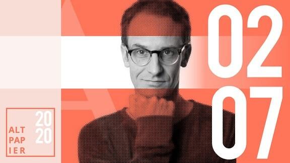 Teasergrafik Altpapier vom 02. Juli 2020: Porträt Autor Klaus Raab
