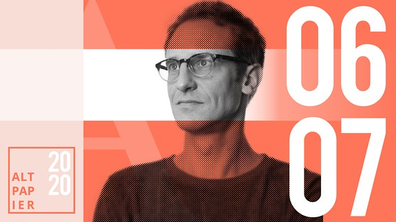 Teasergrafik Altpapier vom 06. Juli 2020: Porträt Autor Klaus Raab