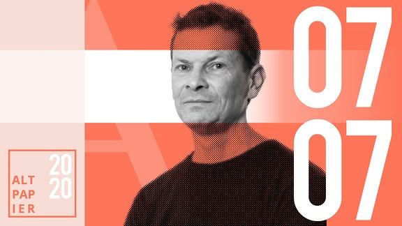 Teasergrafik Altpapier vom 07. Juli 2020: Porträt Autor Christian Bartels