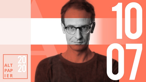 Teasergrafik Altpapier vom 10. Juli 2020: Porträt Autor Klaus Raab