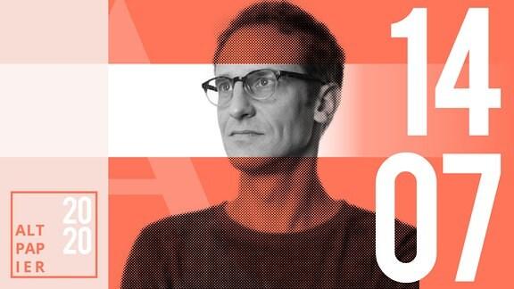 Teasergrafik Altpapier vom 14. Juli 2020: Porträt Autor Klaus Raab