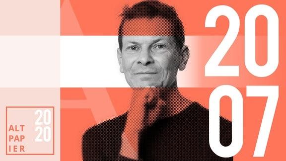 Teasergrafik Altpapier vom 20. Juli 2020: Porträt Autor Christian Bartels