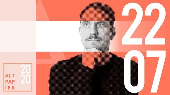 Teasergrafik Altpapier vom 22. Juli 2020: Porträt Autor Ralf Heimann