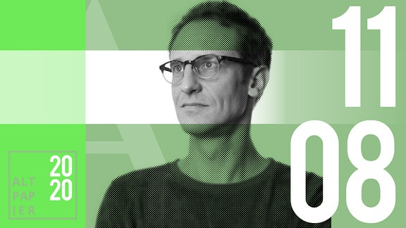 Teasergrafik Altpapier vom 11. August Juli 2020: Porträt Autor Klaus Raab