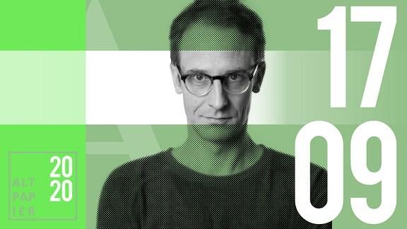 Teasergrafik Altpapier vom 17. September 2020: Porträt Autor Klaus Raab