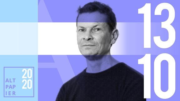Teasergrafik Altpapier vom 13. Oktober 2020: Porträt Autor Christian Bartels