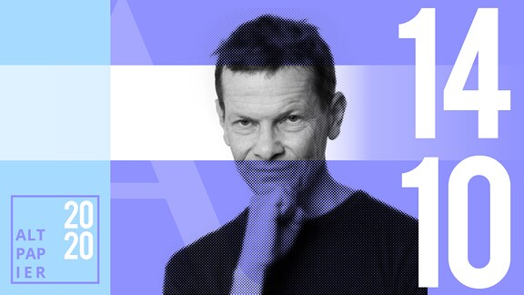 Teasergrafik Altpapier vom 14. Oktober 2020: Porträt Autor Christian Bartels