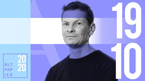 Teasergrafik Altpapier vom 19. Oktober 2020: Porträt Autor Christian Bartels