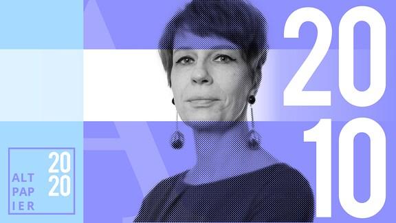 Teasergrafik Altpapier vom 20. Oktober 2020: Porträt Autorin Jenni Zylka