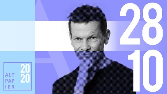 Teasergrafik Altpapier vom 28. Oktober 2020: Porträt Autor Christian Bartels