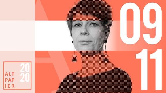 Teasergrafik Altpapier vom 9. November 2020: Porträt Autorin Jenni Zylka