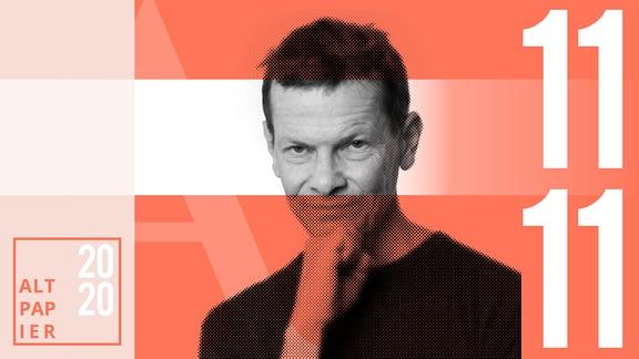 Teasergrafik Altpapier vom 11. November 2020: Porträt Autor Christian Bartels