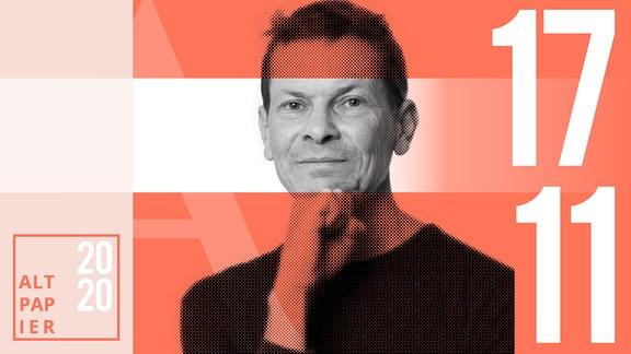 Teasergrafik Altpapier vom 17. November 2020: Porträt Autor Christian Bartels