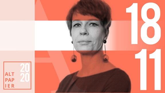 Teasergrafik Altpapier vom 18. November 2020: Porträt Autorin Jenni Zylka