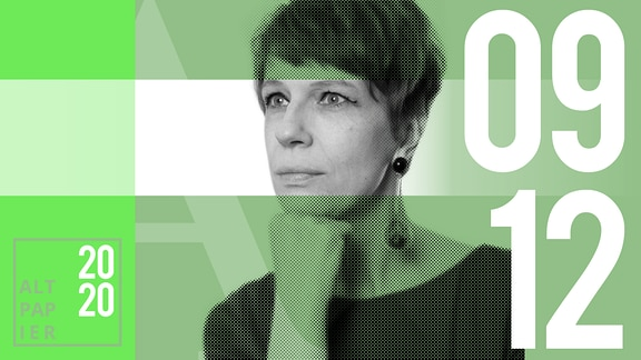 Teasergrafik Altpapier vom 9. Dezember 2020: Porträt Autorin Jenni Zylka
