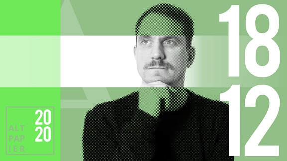 Teasergrafik Altpapier vom 18. Dezember 2020: Porträt Autor Ralf Heimann