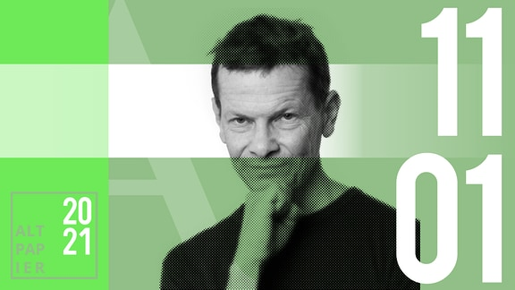 Teasergrafik Altpapier vom 11. Januar 2020: Porträt Autor Christian Bartels